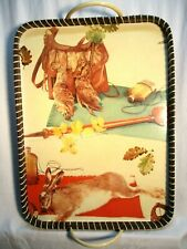50's Vintage hunting theme serving tray great for hunting camp or lodge!