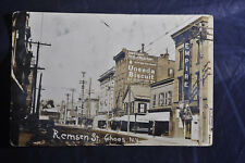 RPPC UNEEDA Biscuit Billboard Remsen St., Cohoes, NY