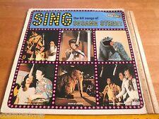1974 Sing the Hit Songs of Sesame Street Jim Henson 33 rpm record album