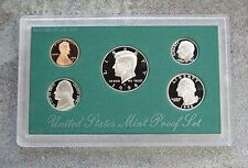 1998 United States US Mint 5pc Clad Coin Proof Set