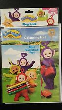 CBBC Teletubbies Play Pack 2 colouring pads kids party bag activity learning
