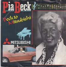 Pia Beck-Beck To Mistsubishi vinyl single