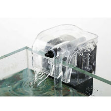 Portable Aquarium Fish Tank Hanging Power Filter Waterfall Water Air Pump Filter