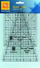 Simplicity EZ Dear Jane Wedge & Square Q35 Acrylic Ruler Quilting Patchwork