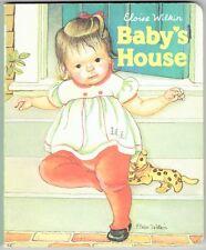 Cute Children's Baby's World Board Book BABY'S HOUSE by Eloise Wilkin