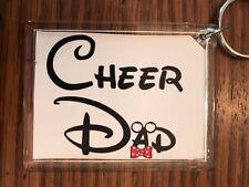 Cheerleading Keychain with Cheer DAD 3