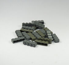 Lego post for Knight Castle Wellenstein 1x4 Stone Grey Palisades (31)