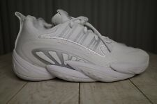 Adidas SM Crazy BYW 2.0 TEAM White Athletic Sneakers Shoes FV7046 Size 10