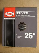 "Bell Self-Seal 26"" Inner Tube Fits Tire Widths 1 1/4""-1 3/8"" Schrader Valve"