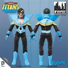 The New Teen Titans Nightwing 8 Inch Action Figure Loose New in Polybag Ftc