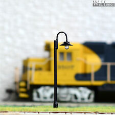 15 pcs HO or OO scale Model Lamppost LED made street light Metal cold Lamp #612