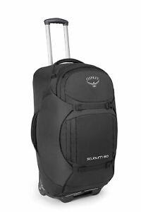 Osprey Sojourn 80 Trolley Reisetasche Trolley-Rucksack Tasche Flash Black