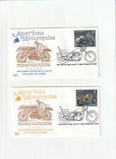 2006 FDC,AMERICAN MOTORCYCLES,SET OF 4,HARLEY DAVIDSON,HFB, SCOTT # 4085-4088