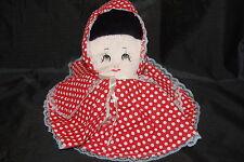 "Little Red Riding Hood Grandma Big Bad Wolf 3 in1 Flip Doll Plush Story Book 12"""