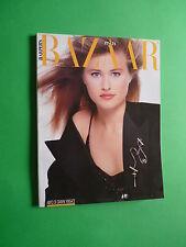 Harper's BAZAAR Italia Novembre 1987 November Christopher Lambert Giulia Boschi