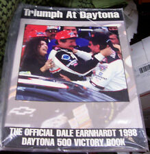 TRIUMPH AT Daytona 500 1998 Dale Earnhardt VICTORY book OFFICIAL-SEALED