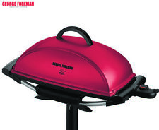 George Foreman Indoor/Outdoor BBQ Grill - Red