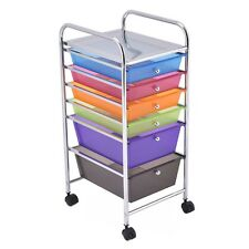 Office School 6 Drawer Rolling Storage Cart Tools Scrapbook Paper Organizer