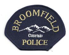 **BROOMFIELD COLORADO POLICE PATCH**