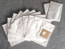 10 Sacchetto per aspirapolvere + 2 filtri per Menalux 1750, Sacchetto per la Polvere Sacchetti Di Filtro