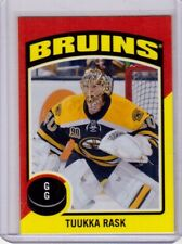 TUUKKA RASK 14/15 OPC O-Pee-Chee #ST-35 Retro Sticker Insert Boston Bruins Card