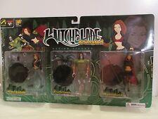 Witchblade Animated Action Figures #846/1000 Witchbalde,Darkness,Magdalena MOC