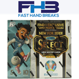 2020 PANINI SOCCER UEFA SELECT HYBRID HOBBY 1 BOX BREAK - RANDOM TEAMS - FHB008