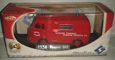Peugeot D4A   pompier solido N°4834 1/43