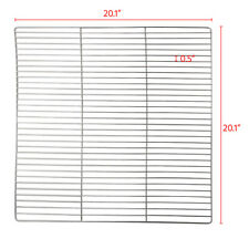 """20"""" Stainless Steel Cooking Grill Grate Grid Replacement BBQ Wire Net Mesh Rack"""