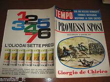 RIVISTA TEMPO 1964/18=MARIA JOSE' DI SAVOIA=SOFIA LOREN=GIORGIA MOLL=AGIP OLIO=