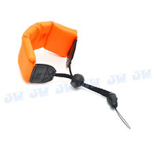 JJC Floating Foam Wrist Arm Strap for Waterproof DC Camera Afloat Olympus Orange
