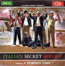 Fiorenzo Carpi-Italian Secret Service 45 giri Promo Nm Colonna Sonora