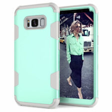 For Samsung Galaxy S8 S9 Plus Rugged Hybrid Full Body Shockproof Hard Case Cover