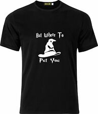 SORTING HAT BUT WHERE TO PUT YOU HARRY POTTER 100% COTTON CHILDS T SHIRT
