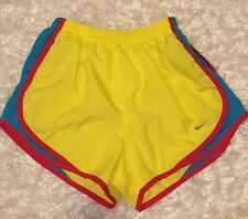 NIKE DRI-FIT SHORTS W/ BUILT-IN-BRIEFS Running/yoga/ Work Out LADIES SZ S