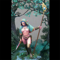 1/24 Witch Elf Resin Kits Unpainted Model GK Unassembled