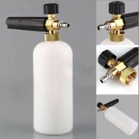 "Pressure Snow Foam Washer Jet Car Wash Adjustable Lance Soap Spray Cannon 1/4"""