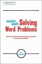 Master Math: Solving Word Problems-ExLibrary