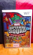 Marvel Superhero Squad: The Infinity Gauntlet - Wii Edition - Includes Manual