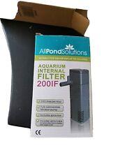 All Pond Solution 200lf Internal Box Filter Foams for 200L Aquarium Boxed New