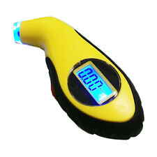 LCD Digital Auto Car Motorcycle Air Pressure Tire Tyre Gauge Tester Tool New