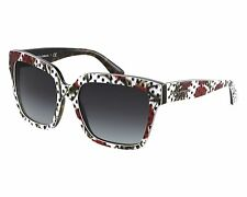 Dolce & Gabbana Black/ Floral/ Dot Print Women's Sunglasses DG 4234 2977/8G