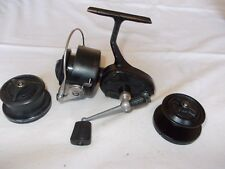 VINTAGE  MITCHELL 400  REEL -- High Speed, Black Variant with Red Gasket showing