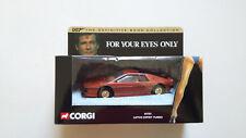 Corgi 04701 JAMES BOND LOTUS ESPRIT TURBO For Your Eyes Only