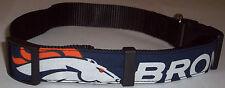 Denver Broncos COLLAR Dog Large Football Fan Puppy Gear Team Pet NFL Shop New L