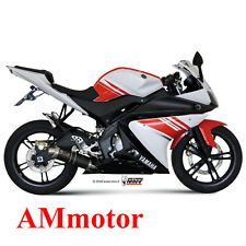 Impianto Completo Mivv Yamaha Yzf R125 2008 08 Scarico Gp Carbonio Moto