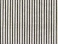 Farmhouse Ticking Stripe Fabric Black / Natural 100% Cotton