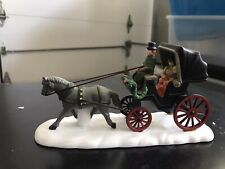 """Dept 56 5979-0 """"Heritage Village Collection"""" Handpainted Central Park Carriage"""