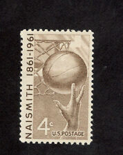 1189 Naismith Basketball Us Single Mint/nh (Free Shipping)