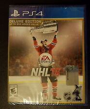 PS4 NHL 16 Deluxe Edition. New. Free Shipping